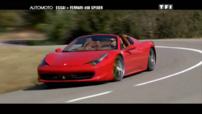 Essai Automoto Ferrari 458 Spider 2011