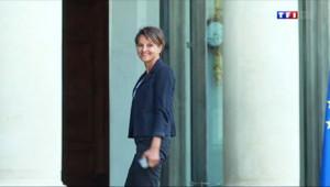 Le 20 heures du 26 août 2014 : Valls II : Najat Vallaud-Belkacem, premi� femme promue �'Education - 322.27