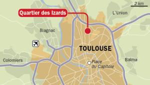 Le quartier sensible des Izards à Toulouse IDE