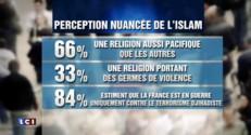Le rejet de l'Islam recule assez largement en France