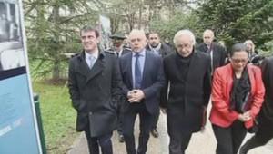 Manuel Valls, François Patriat et François Rebsamen à Dijon