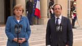 Dîner de crise franco-allemand à la veille d'un sommet de la zone euro