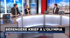 """Bérengère Krief à l'Olympia : """"C'est comme sauter en parachute mais on ne sait pas si on a le parachute"""""""
