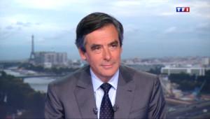 """Le 20 heures du 27 août 2014 : Fran�s Fillon : """"Il ne faut pas attendre des miracles"""" d'Emmanuel Macron - 1115.748"""