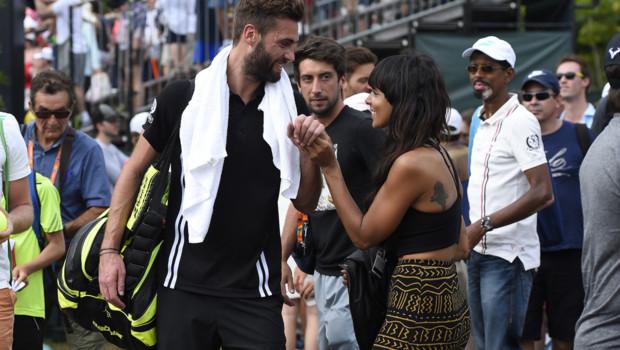 Shy'm Benoît Paire tennis