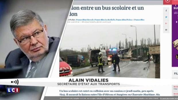 Accident mortel de car scolaire en Charente : les précisions d'Alain Vidalies