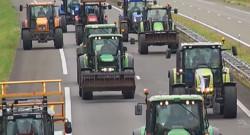 La colère des agriculteurs le 27 juillet 2015