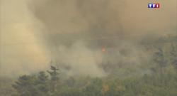 Le 13 heures du 18 juillet 2015 : Incendie de Châteauneuf : plus de 30 hectares détruits par les flammes - 571