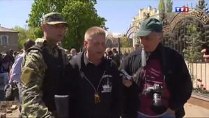 """Le 20 heures du 27 avril 2014 : Ukraine : les observateurs de l%u2019OSCE sont des """"invit� - 1518.28"""