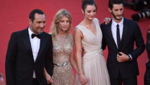 Le casting français de Vice-Versa à Cannes le 18 mai 2015