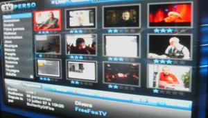Le service TV Perso de Free