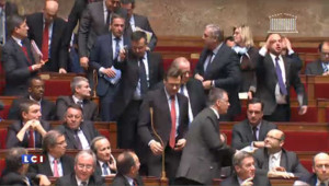 Incident à l'Assemblée