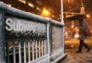 La neige à New york, après le passage de Sandy, le 7 novembre 2012