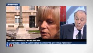 Rocard : Guigou est sa candidate pour le perchoir !
