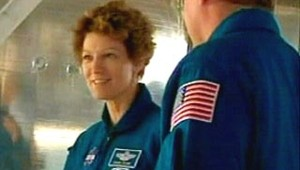 Discovery commandant Eileen Collins