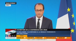 François Hollande, le 15 septembre 2014.