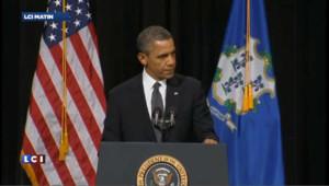 """Obama : """"Nous devons en finir avec ces tragédies"""""""