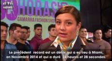 Pérou : ça a l'air d'un défilé de mode comme les autres...sauf qu'il va durer 30 heures