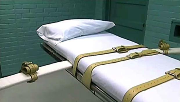 Pièce prévue pour les injections létales en cas de peine de mort aux Etats-Unis