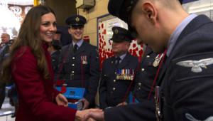 Kate Middleton à Londres lors de la Journée du Souvenir, le 7 novembre 2013.