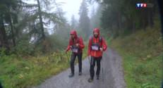 Le 20 heures du 27 août 2014 : Course en montagne : La Petite Trotte ��, 300 km autour du Mont Blanc - 1842.768