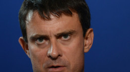 Le ministre de l'Intrieur Manuel Valls  septembre 2012/archives