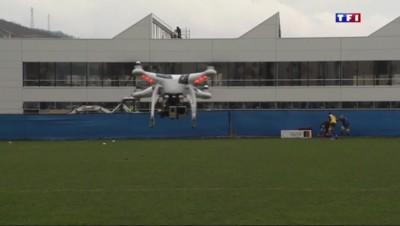 Les drones au service du rugby