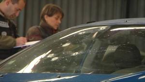 marseille attaque voiture police criblée de balles