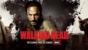Poster de la saison 3 de la série The Walking Dead dévoilé au Comic Con' 2012 de San Diego.