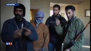 Syrie : reportage aux côtés des insurgés