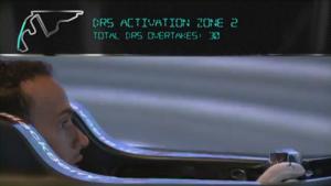 Petit tour de la piste de Yas Marina en 3D par Lewis Hamilton (Mercedes), à l'occasion du Grand Prix de Formule 1 d'Abu Dhabi 2014.