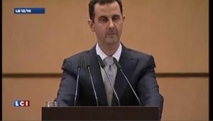 Bachar al-Assad accuse « la main de l'étranger »