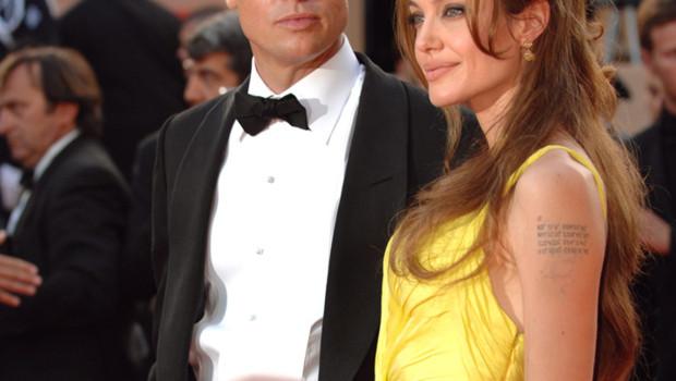 Brad Pitt et Angelina Jolie à Cannes- 2007