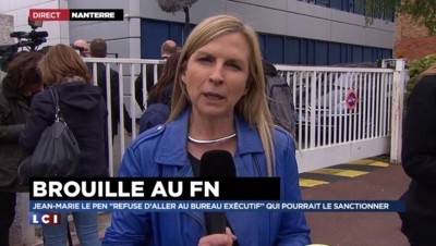 """Bureau exécutif du FN : """"Une véritable dissension entre les différents camps"""""""