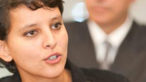 La ministre des Droits des Femmes et porte-parole du gouvernement, Najat Vallaud-Belkacem / octobre 2012 – image d'archives