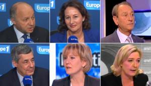 Réactions politiques après le débat d'entre-deux-tours de la présidentielle opposant Hollande et Sarkozy : montage