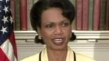 """""""Les postes de la tyrannie"""" selon Condi Rice"""