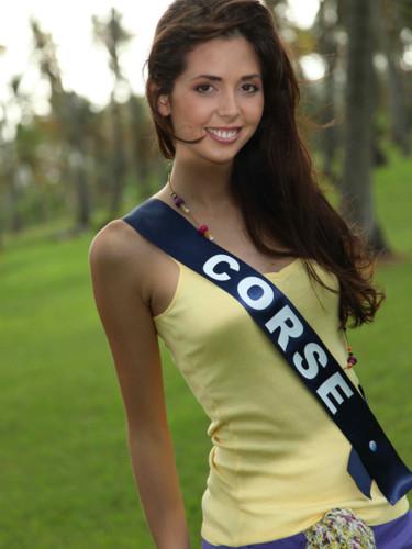 Miss Corse 2009 - Céline Nicolai  : candidate Miss France 2010
