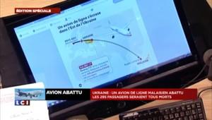 Crash d'un avion malaisien en Ukraine : probablement des victimes européennes voire françaises