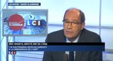 """Eric Woerth """"soutiendra Nicolas Sarkozy"""" s'il est candidat à la présidence de l'UMP"""