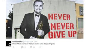 Le street art sur Leonardo DiCaprio