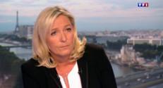 Marine Le Pen sur TF1 le 1er septembre 2014