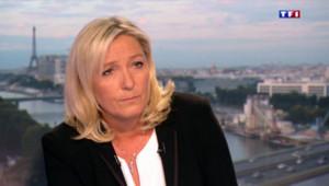 Marine Le Pen sur TF1 (photo d'archive)