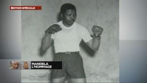 Nelson Mandela faisait de la boxe dans les années 50.