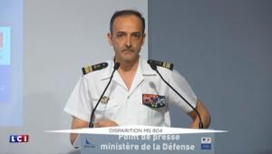 """Vol Paris-Le Caire : """"Nous avons un avion de surveillance maritime sur zone"""""""