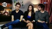 Interview : Elena, Damon et Stefan vous présentent Vampire Diaries