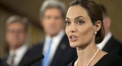 angelina Jolie Londres G8 violence faite aux femmes