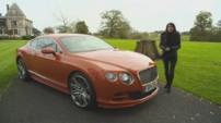 Teaser de l'émission Automoto du dimanche 16 novembre 2014, chez la marque Bentley, présentée par Marion Jollès Grosjean