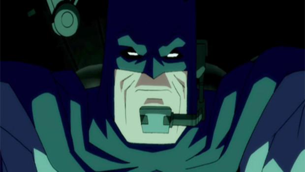 The Dark Knight Returns. Série d'animation réalisée par Jay Oliva d'après l'oeuvre de Frank Miller.