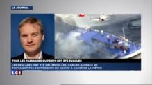 Incendie sur un ferry : tous les passagers évacués